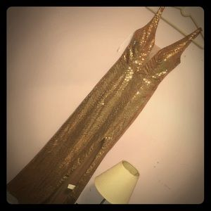 Gold Prom Dress! Never wore!